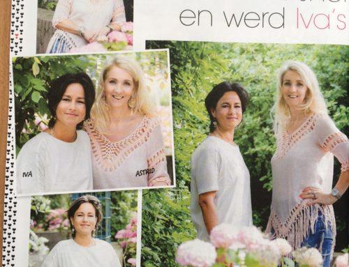 Artikel in tijdschrift Vriendin: Iva en Astrid