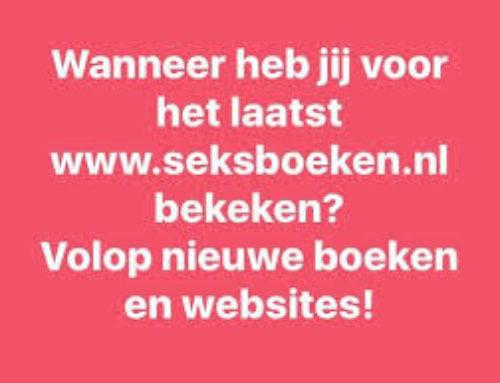 Er staan weer veel nieuwe boeken op mijn website www.seksboeken.nl