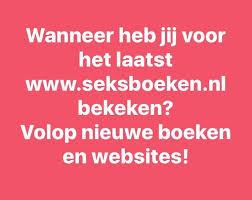 Er staan weer veel nieuwe boeken op de website www.seksboeken.nl