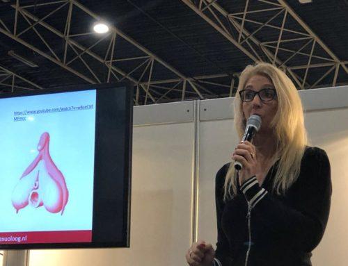 Seksuoloog Astrid Kremers spreekt op de Gezondheidsbeurs