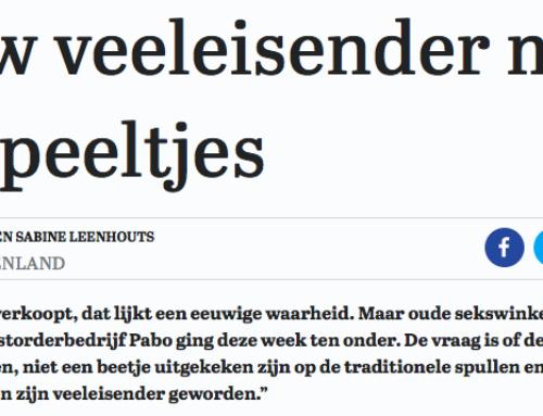 Vandaag in de Telegraaf: Vrouwen raken opgewonden van nieuwe en adequate seksuele prikkels