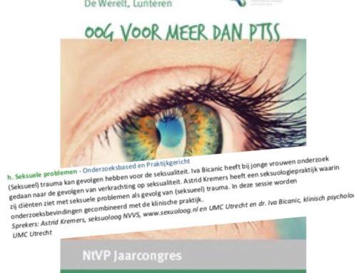 Spreker op NtVP jaarcongres: seksuele problemen na (seksueel) trauma