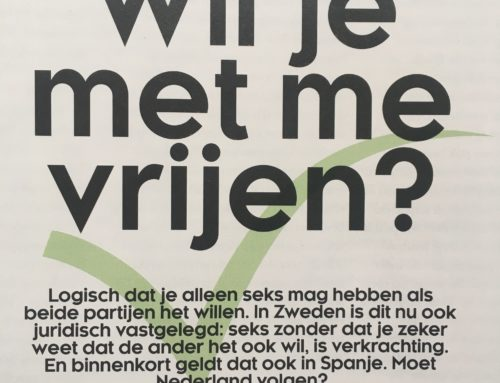 Interview in VIVA met o.a. seksuoloog Astrid Kremers over sekswet